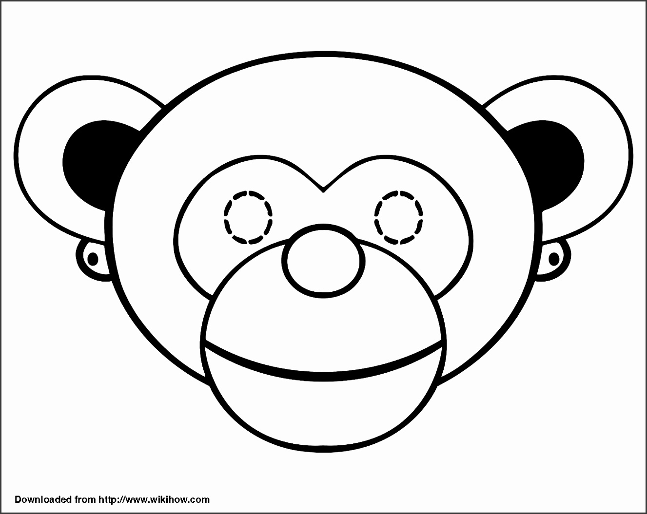 How to Make a Monkey Mask 13 Steps with wikiHow