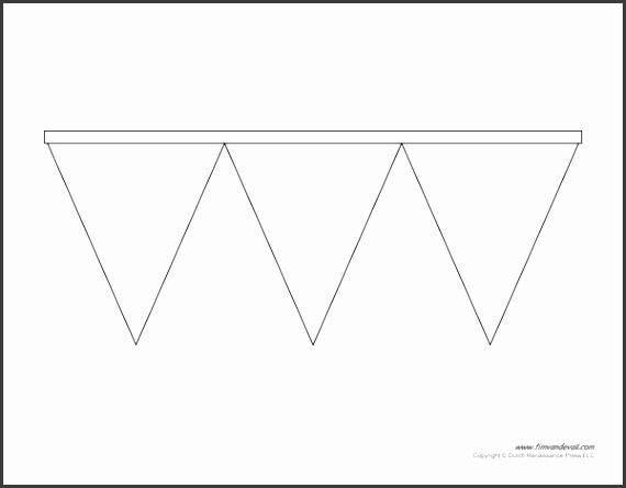 triangle banner template triangle banner templates