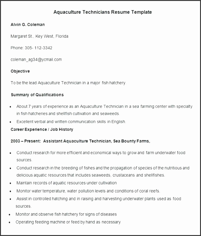 6 Free Resume Cover Letter Template