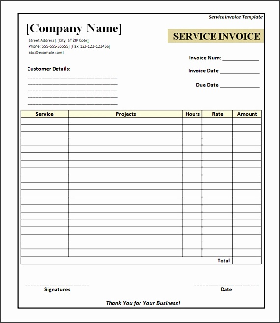 Printable Invoice Templates Service Invoice 28 Download Documents In Pdf Word Excel Psd Free