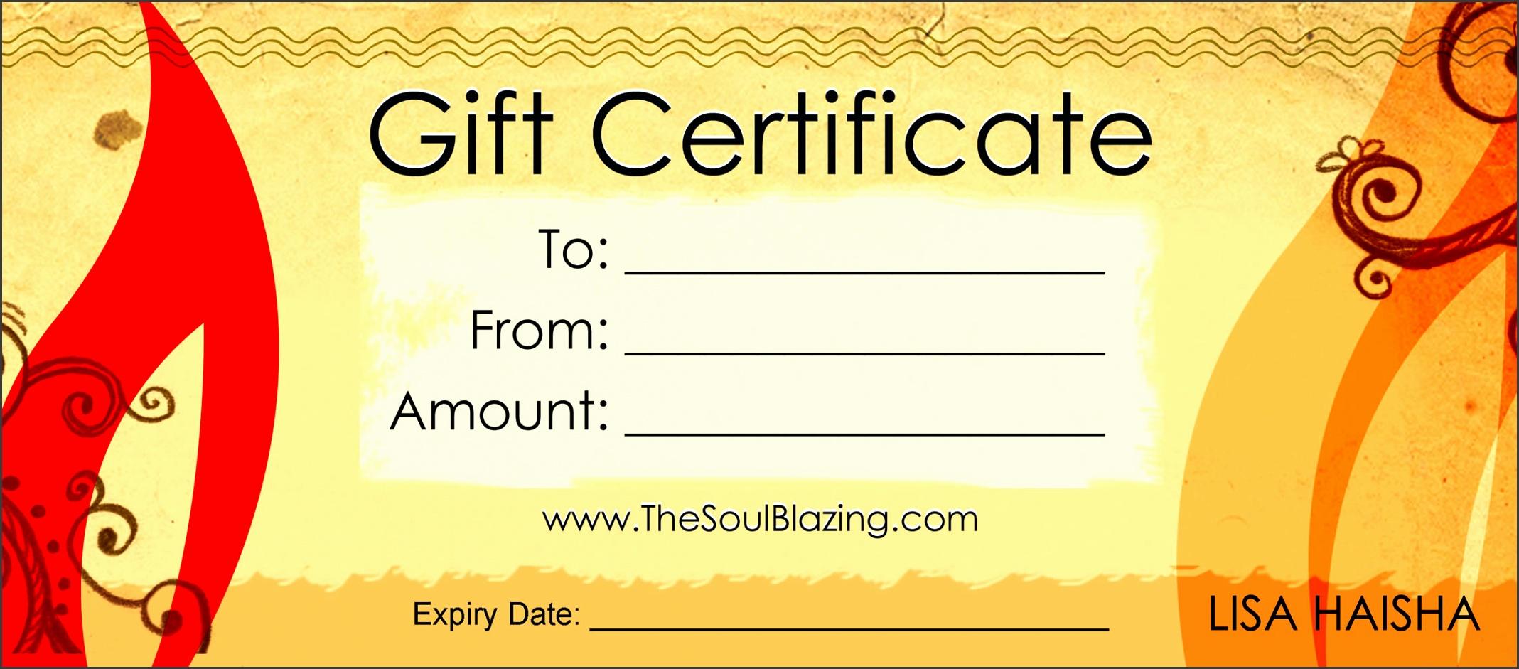 Gift Certificates Gift Certificates · Gift Certificates