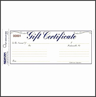REDIFORM Gift Certificate Envelope Pack 25 Duplicates Gold Yellow 3 67 x