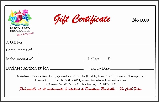 Gift Certificates cannot be used at the LCBO or H&T Nails