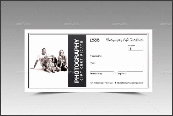 Gift Certificate Template Psd 11 graphy Gift Certificate for graphy Gift Certificate Template Free Download 1524