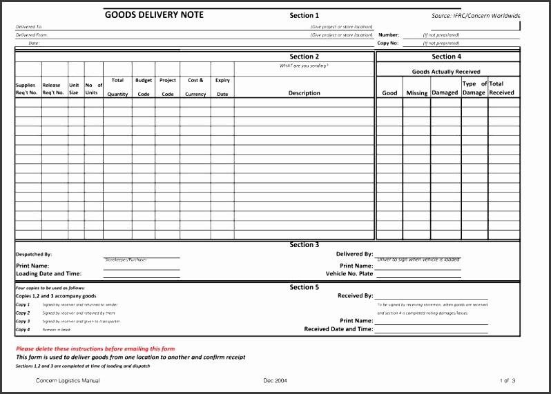 transport management plan template - 10 goods received note template sampletemplatess