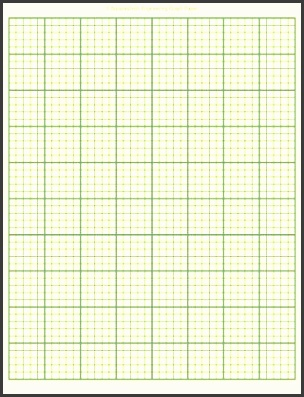 graph paper template printable sample docs 5