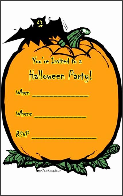 free halloween invite templates