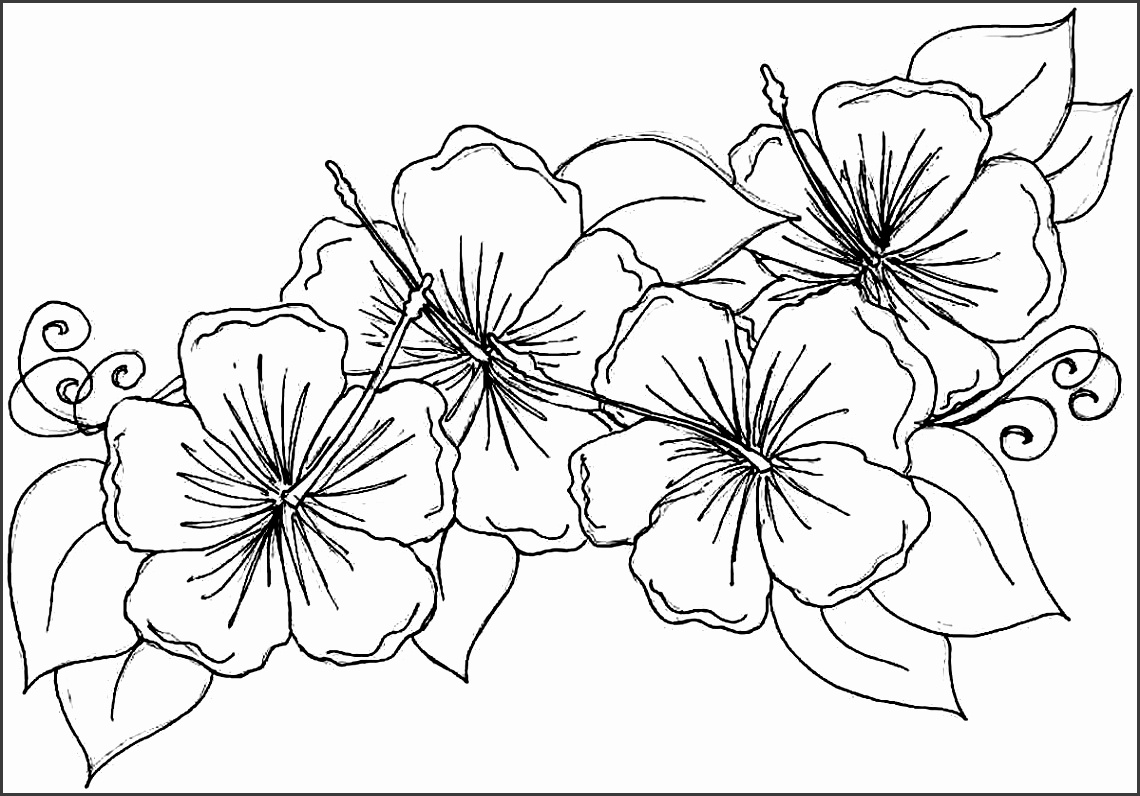 6 hawaiian flower template for coloring sampletemplatess printable smiling flower coloring page for kids didi view r izmirmasajfo