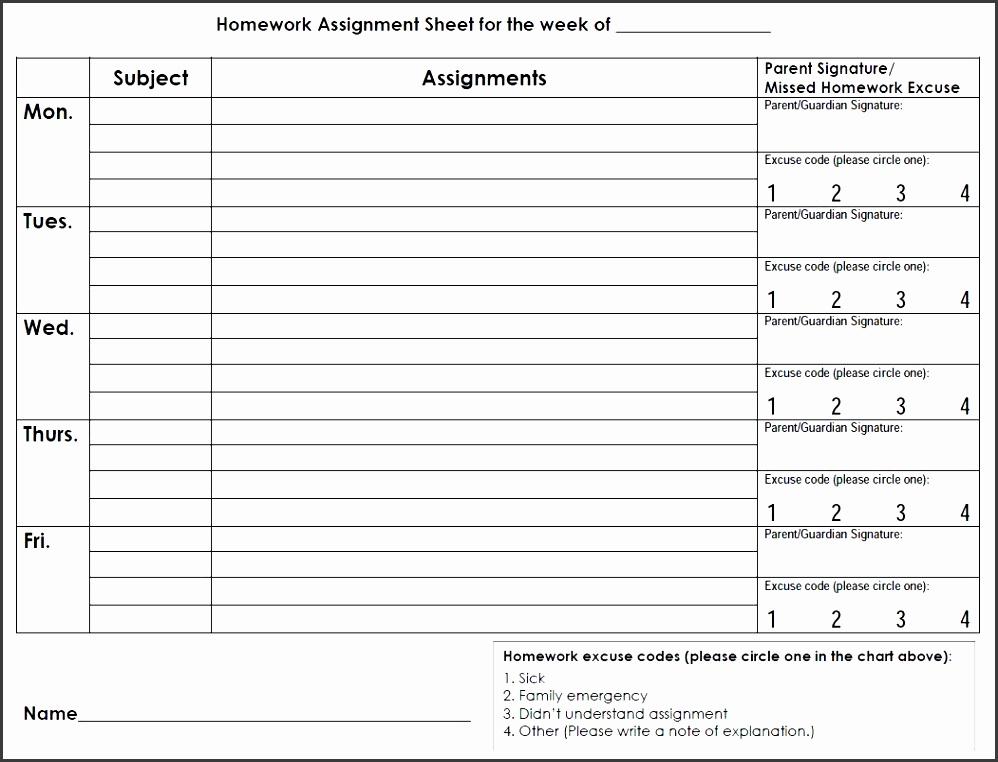 6 homework calendar template sampletemplatess sampletemplatess. Black Bedroom Furniture Sets. Home Design Ideas