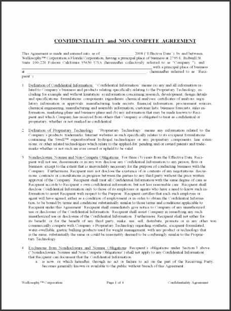 Non pete Agreement Template Cards Florida Independent Contractor New Jersey Sample Free Download Contract Form 480
