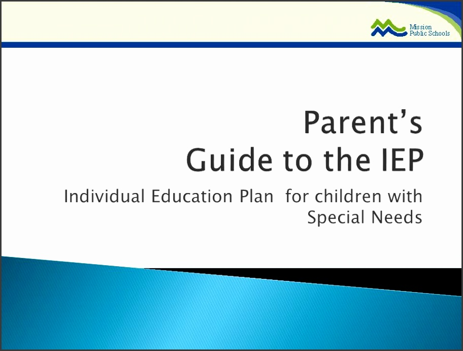 Parent s Guide to the IEP