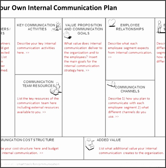 Free Tool To Create Your Internal munication Plan with regard to Internal munications Plan Template