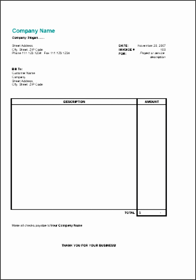 invoice basic template free simple form word easy uk australia pdf blank excel