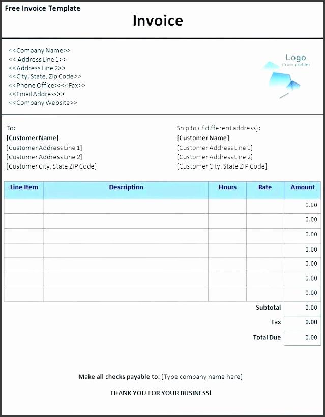 free invoice template microsoft free invoice template word free invoice template with logo by 7 best