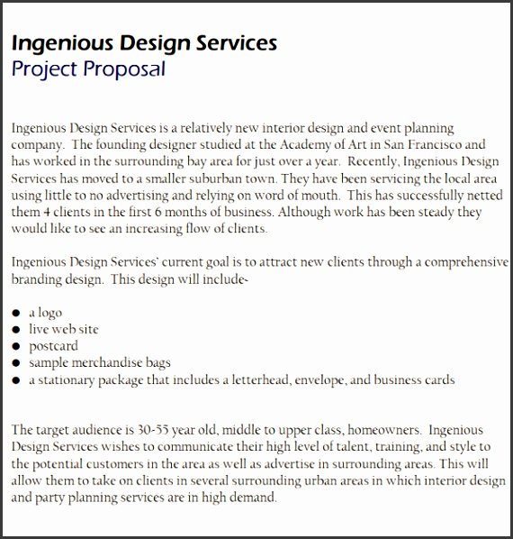 Interior Design Proposal Template Free sample interior design proposal template 15 free documents in Old House