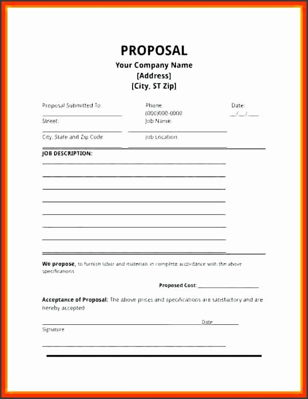 proposal template free job proposal template free word business proposal template free doc