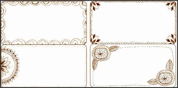 hand drawn pen lace wedding template