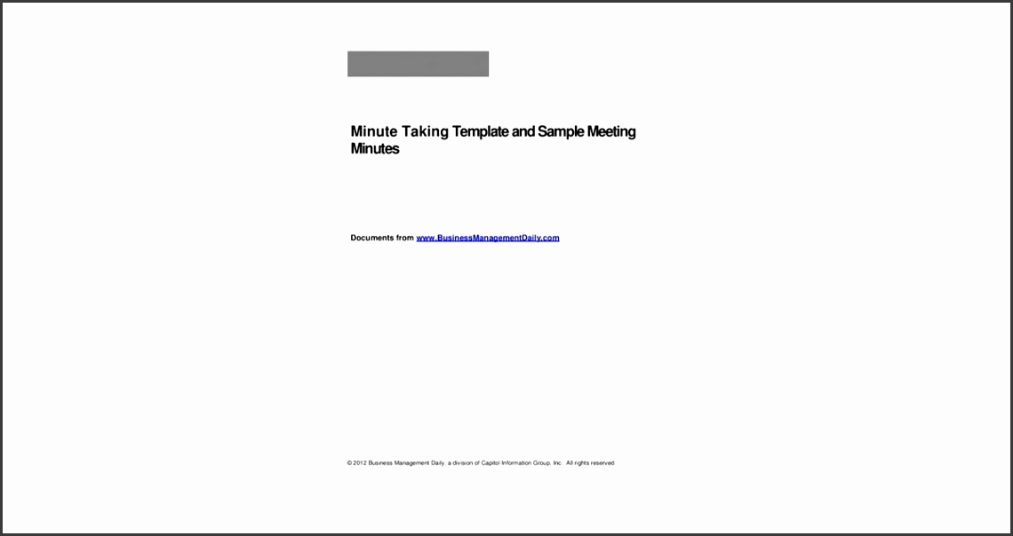 Meeting Note Taking Template | Waiter Resume Examples For Letters ...