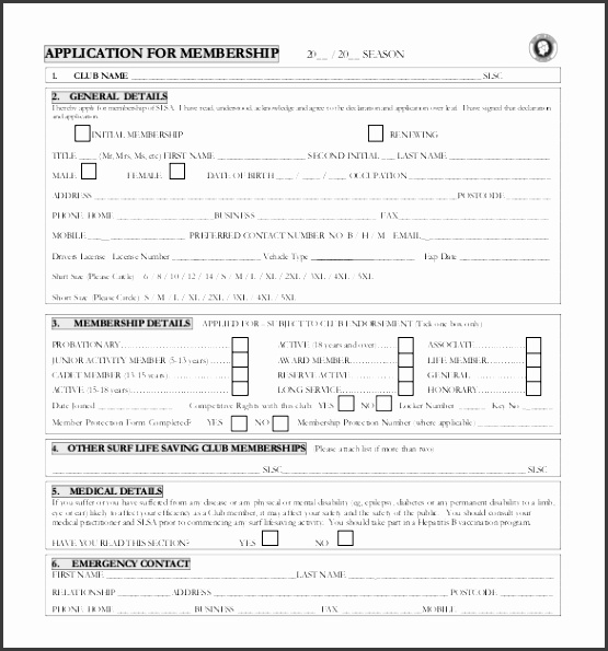 club membership form word format melo in tandem co