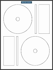 8 memorex cd label template photoshop sampletemplatess for Memorex dvd inserts template