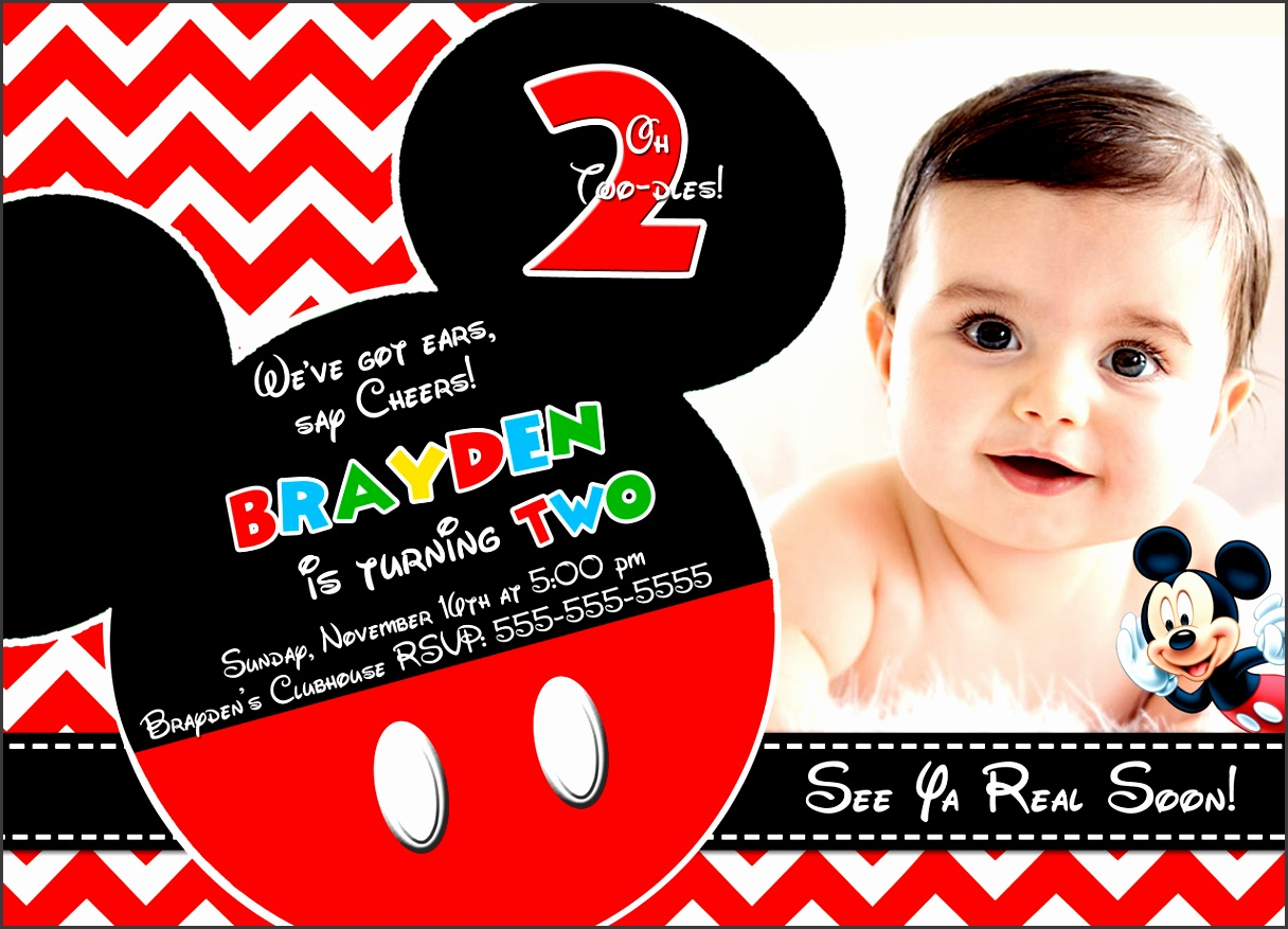 The Mickey Mouse Birthday Invitations Templates Charming Design Tips For Choosing Mickey Mouse Birthday Invitations