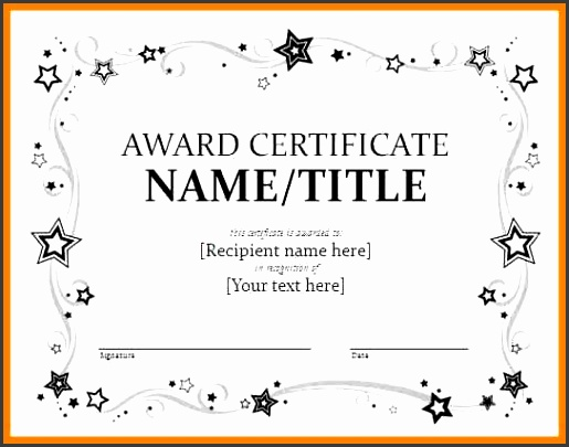 Certificates – fice Word Certificate Templates … the one stop solution is ms word certificate template Word offers numerous … award certificate