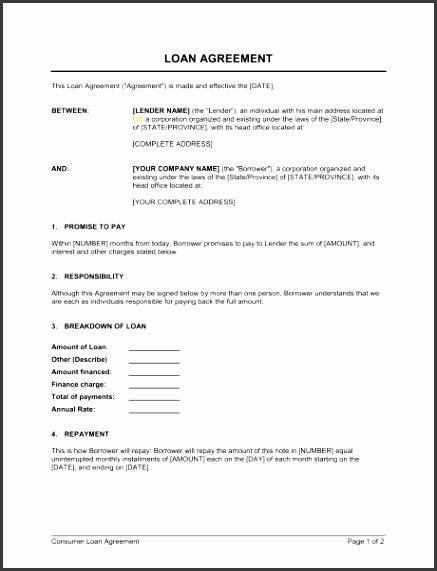 money lending agreement template loan agreement template sample form biztree