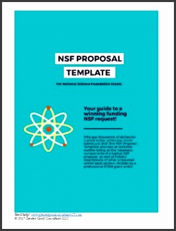 NSF Proposal Outline Template