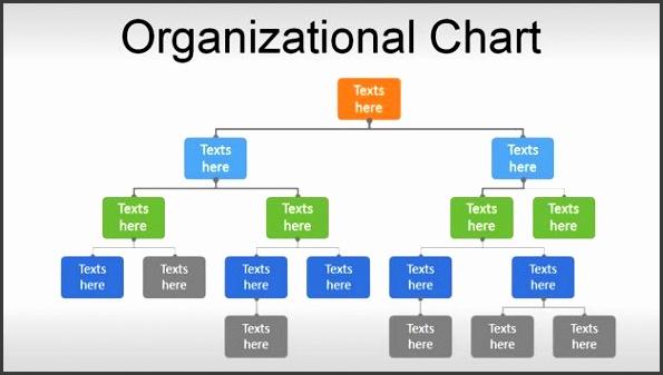 Organizational Change Management Slide Design with Org Chart