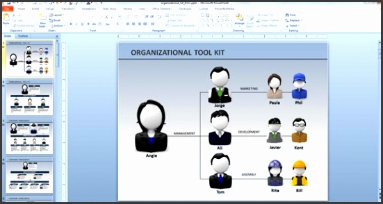 org chart animation powerpoint
