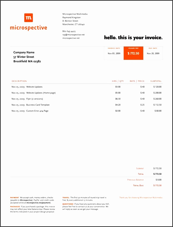 Best 25 Invoice example ideas on Pinterest Invoice layout paid invoice sample