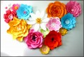 8  Paper Flower Templates