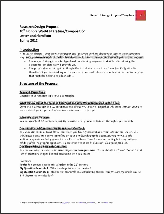 Proposal template for a research paper essay reference quote business
