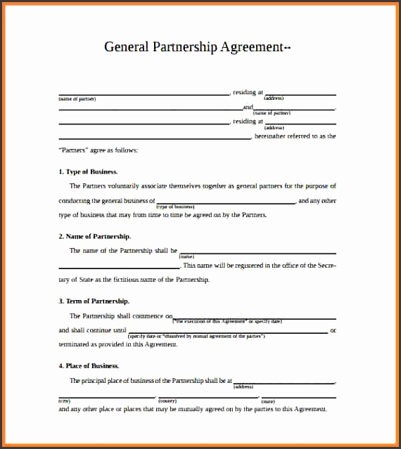8 Corporate Partnership Agreement Template