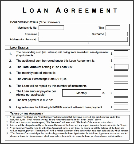 What s More Picture showed above is Awesome Loan Agreement Letter And Form Template Sample Between Friends