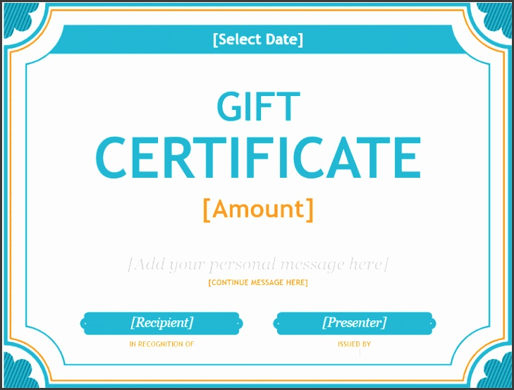 Personalized Gift Certificate Template 173 Free Gift Certificate Templates You Can Customize Download
