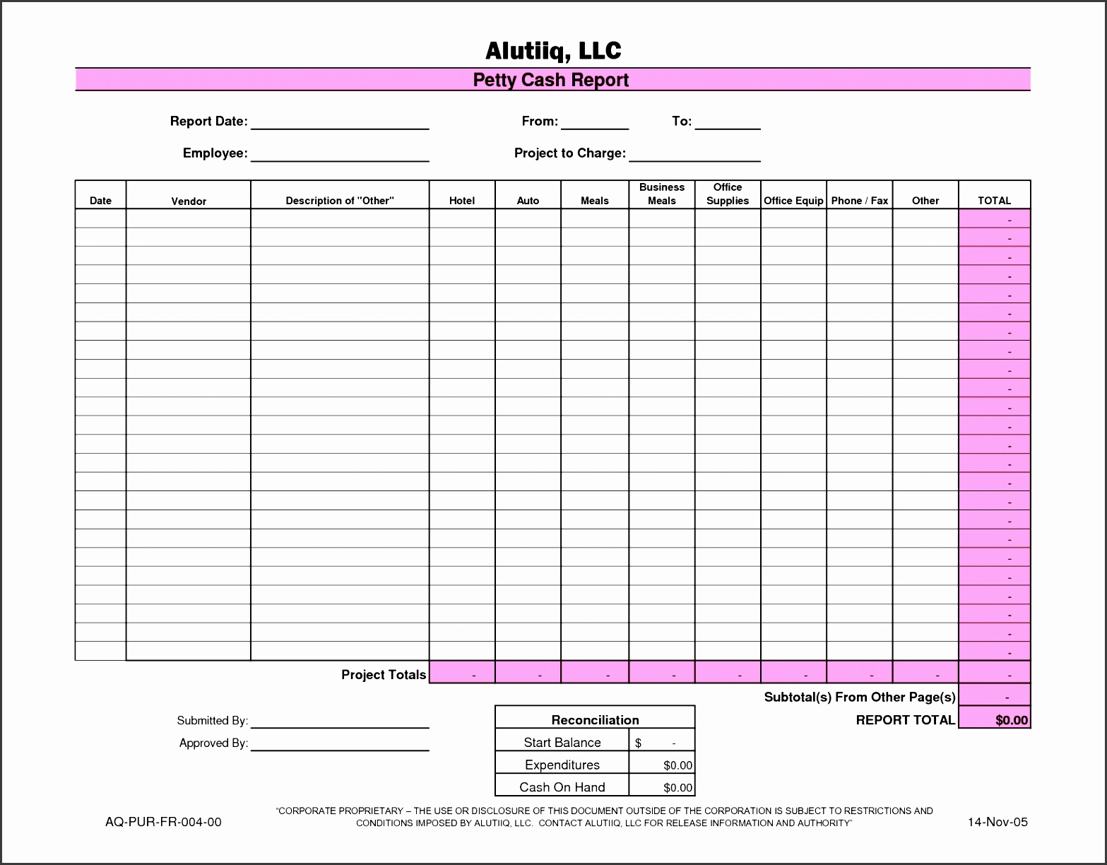 liquidity report template - 9 petty cash log template sampletemplatess