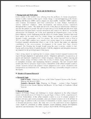 HENG Salpiseth PhD Research Proposal