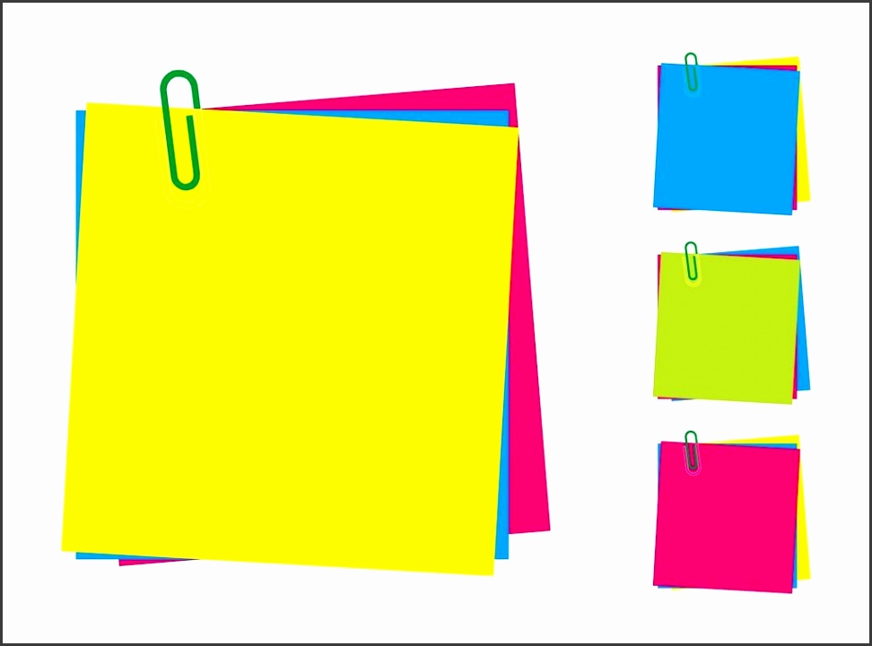 Post It Note Clip Art Post It Note Clip Art Clipart Panda Free Clipart Templates