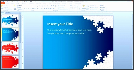 puzzle piece powerpoint You can this free