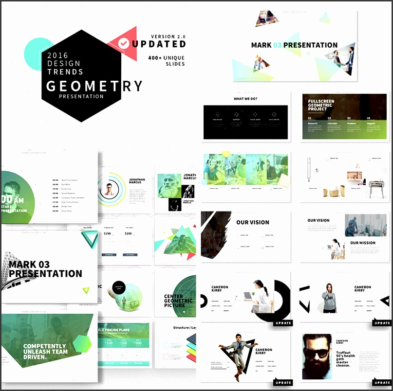 Mark 03 Stylish Ultra Cool PowerPoint Template