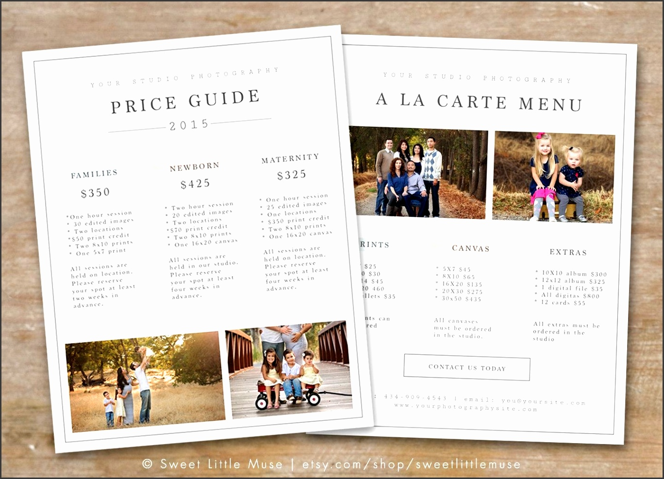 graphy Price List Template graphy Pricing Guide throughout graphy Price List Template 1866