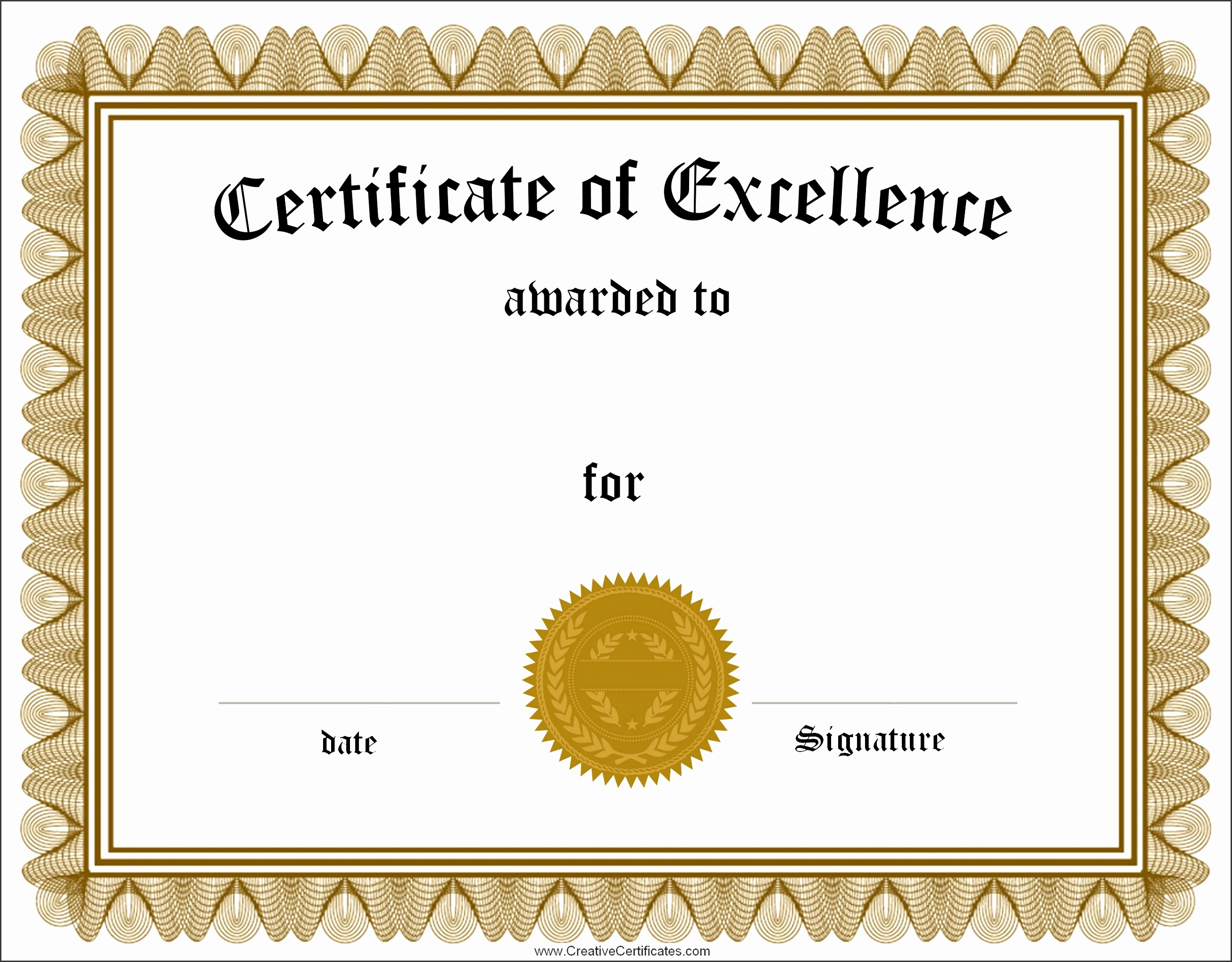10 printable certificate template sampletemplatess sampletemplatess free certificate template editable certificate template certificate templates free certificate of achievement alramifo Image collections
