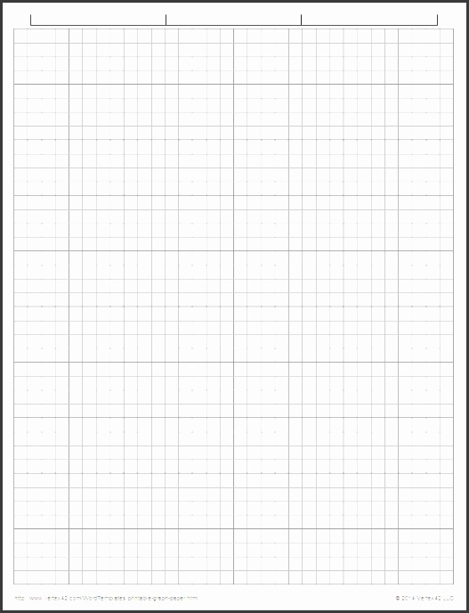 Engineering Graph Paper Template Word
