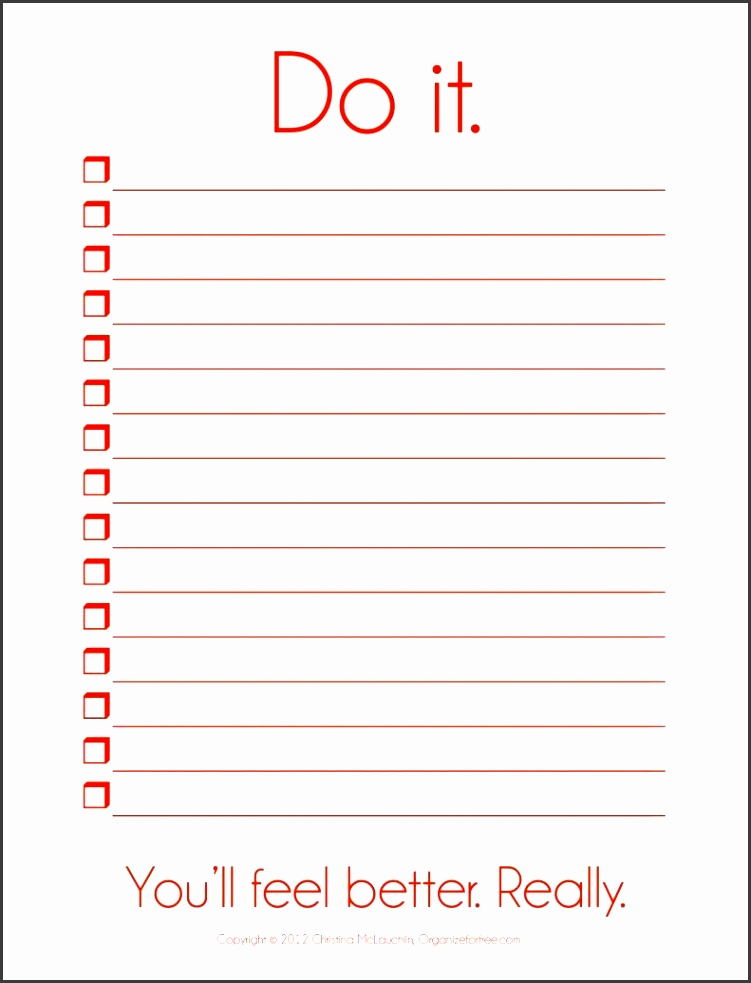 It is a picture of Eloquent Blank List Printable
