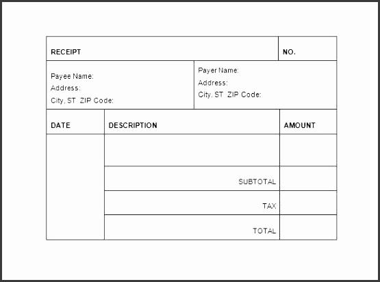 printable receipts