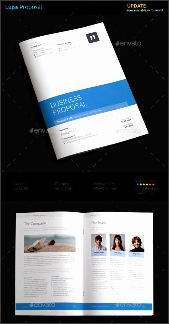 Sample business project proposal template