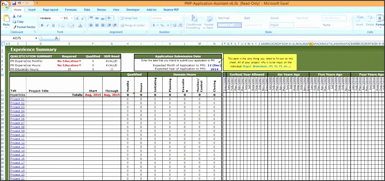Project Tracking Template Excel 2007 And Project Management Excel Templates Gantt