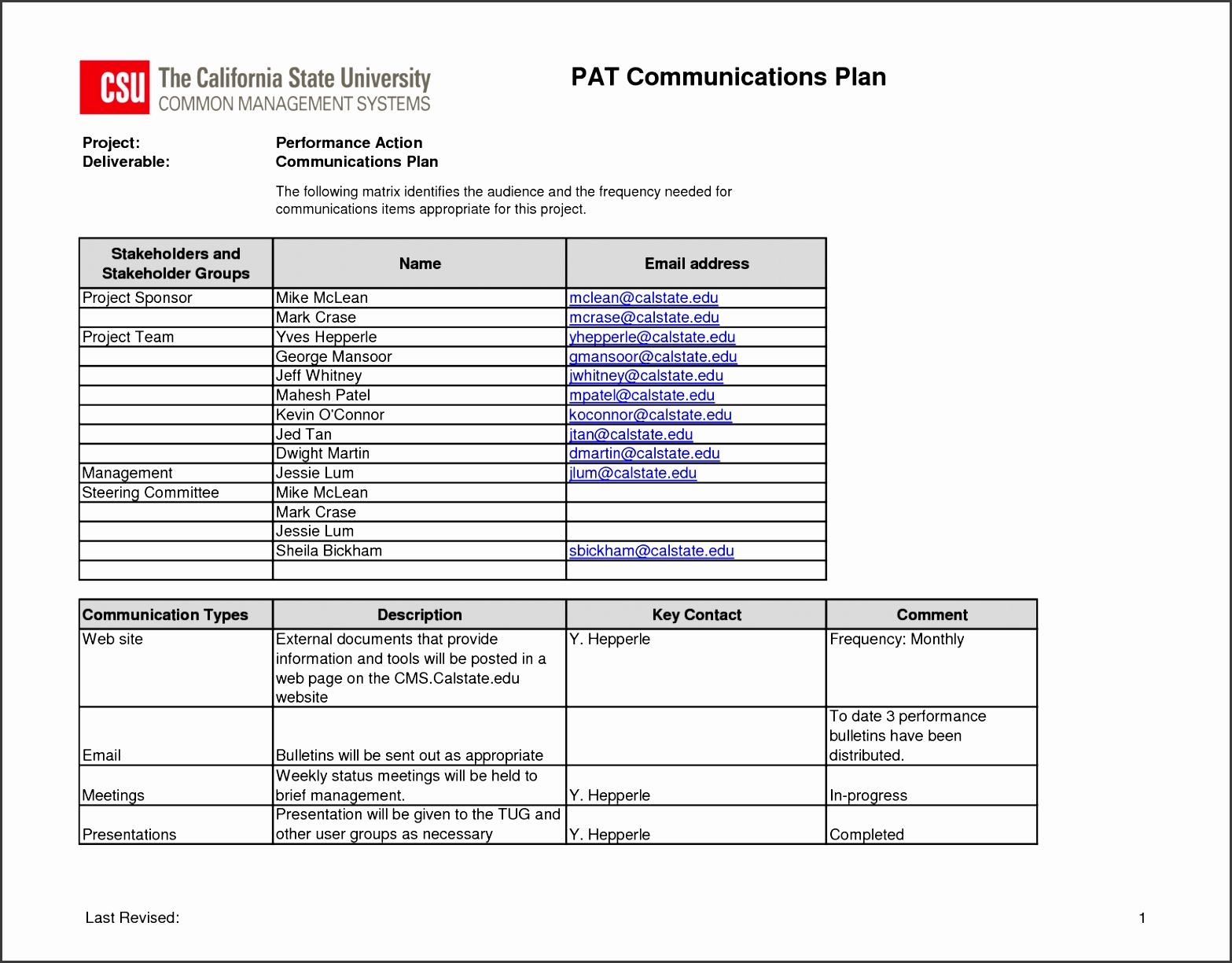 7 Project Quality Management Plan Template Sampletemplatess