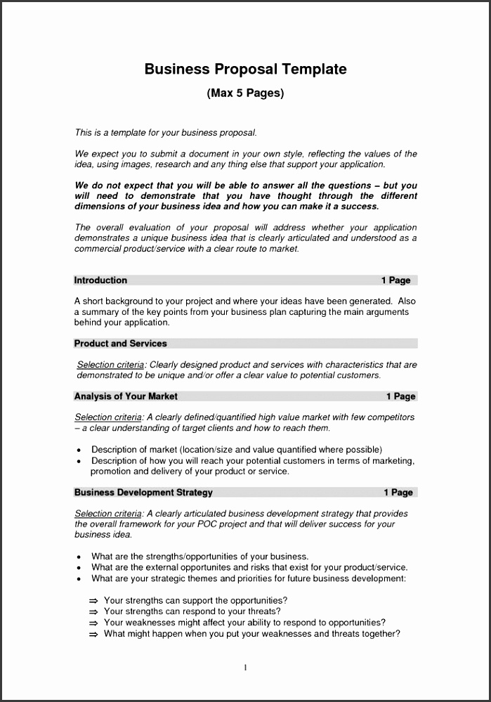 Business Proposal Templates Free Best 25 Sample Business Proposal Ideas Pinterest Business